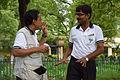 Mrinal Pal Talks with Prasanta Bhattacharya - Howrah 2013-06-08 9308.JPG