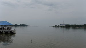 Muar River - Image: Muar river mouth