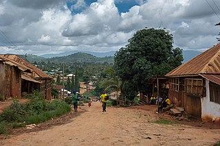 Muheza District District in Northern, Tanzania