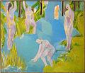 Mujeres en el río. 1998.jpg