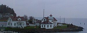 Mukilteo Light - Image: Mukilteo Lighthouse Dec 2005