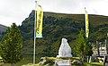 Murmeltier Skulptur am Falkertsee in den Kärntner Nockbergen, Österreich.jpg