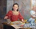 Musée du Vieux Toulouse - La jeune artiste (1895) - Henri Loubat, inv.T1932.jpg