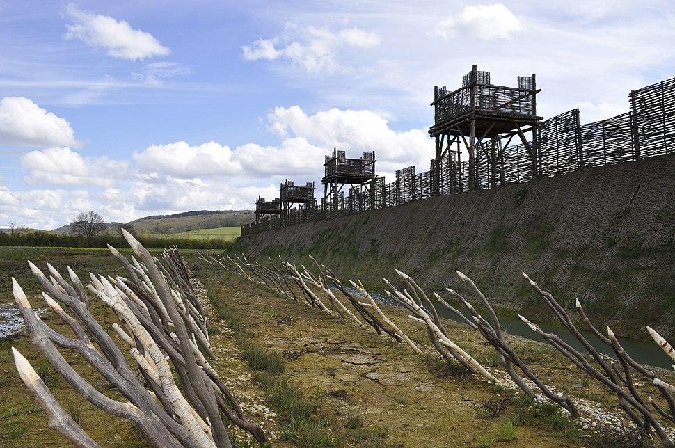 Muséoparc d'Alésia fortifications
