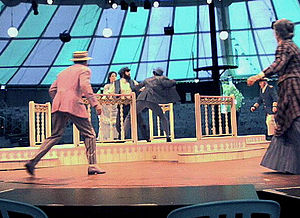 "Music Circus - Rehearsal of ""Showboat"" at Sacramento Music Circus 2001"