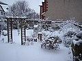 My very snowy back garden - geograph.org.uk - 1143900.jpg