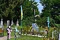 Mylianovychi Turiiskyi Volynska-brotherly grave of UPA warriors-general view.jpg