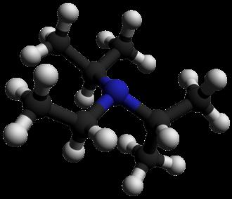 N,N-Diisopropylethylamine - Image: N,N Diisopropylethylamin e 3D balls by AHRLS 2012