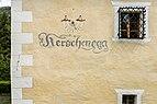 Nötsch Kerschdorf 3 Schloss Kerscheneck Aufschrift 08052015 3430.jpg