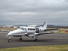 N4381Y Beech 99 Aerodynamics Worldwide Inc (39564952325).jpg