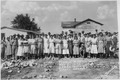 "NYA-""Lee County Training School(Negro)""-Tupelo, Mississippi-group receiving student aid - NARA - 195368.tif"