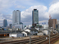 Nagoya of Meieki towers.JPG