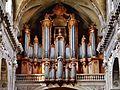 Nancy Cathédrale Notre-Dame-de-l'Annonciation Innen Orgel.jpg
