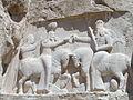 Naqsh-e-Rostam (Iran) Relief Sassanid Period.JPG