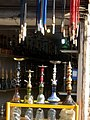 Nargileh (Hookah-Ghelyan-наргиле-narghilè) Store in Cotton-beating Bazaar of Nishapur 2.JPG