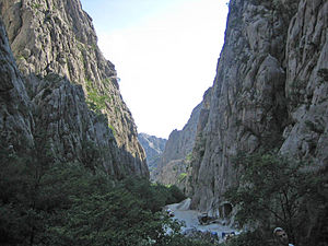 Paklenica - Velika Paklenica gorge