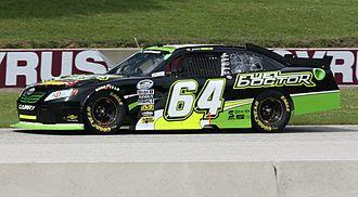Jason Bowles - 2011 Nationwide car