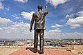 Naval Hill Nelson Mandela Statue, Bloemfontein, Free State, South Africa (20349711938).jpg
