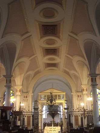 Diocese of Derby - The nave of Derby Cathedral