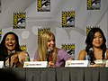 Naya Rivera, Heather Morris & Jenna Ushkowitz (4852526397).jpg