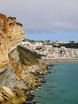 Legend of Nazaré - Nazaré, the cliff.