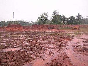 Ultisol - Image: Nc red clay soil 2