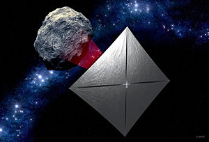 Near-Earth Asteroid Scout - NEA Scout concept: a controllable CubeSat solar sail spacecraft