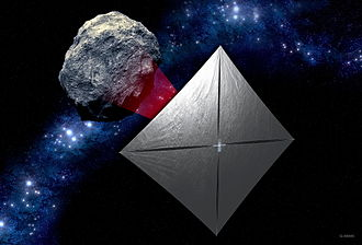 CubeSat - Near-Earth Asteroid Scout concept: a controllable solar sail CubeSat