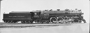 New York Central Hudson - Image: New York Central 4 6 4 Hudson locomotive, 5249 (CJ Allen, Steel Highway, 1928)