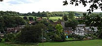 Newnham Village from HillyField Aug2006.jpg