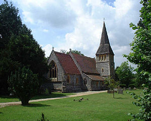 Newtown, Hampshire - Image: Newtown Church geograph.org.uk 27181