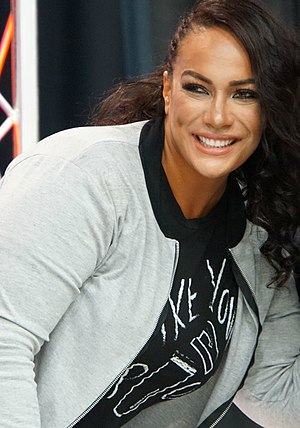 Nia Jax - Jax at the WrestleMania 32 Axxess in April 2016