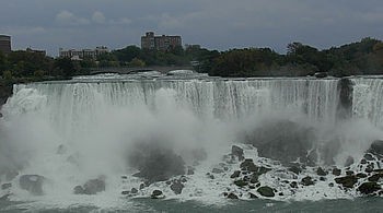 English: Niagara Falls, the American Falls, ta...