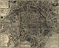 Nicolas de Fer, Huitieme plan de Paris divisé en ses vingts quartiers, 1705.jpg