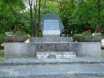 Polski: Pomnik upamiętniający zdobycie Niechorza w 1945 roku przez Armię Czerwoną i Ludowe Wojsko PolskieEnglish: Monument