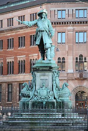 Theobald Stein - Image: Niels Juel statue Copenhagen