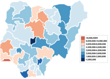 Demographics of Nigeria - Wikipedia, the free encyclopedia