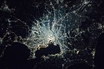 Night in the Greater Tokyo Area ISS054.jpg