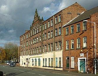 Japanning - Image: Niphon Works Building at Blakenhall, Wolverhampton (geograph 2153711)