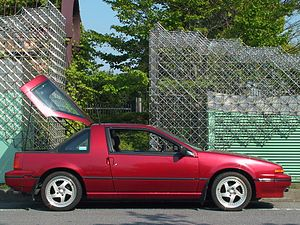Jerry hirshberg wikivividly nissan exa nissan exa n13 with sportbak canopy open fandeluxe Images