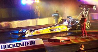 G-force - Image: Nitrolympics Top Fuel 2005