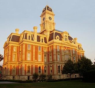 Hamilton County, Indiana - Image: Noblesville indiana county seat