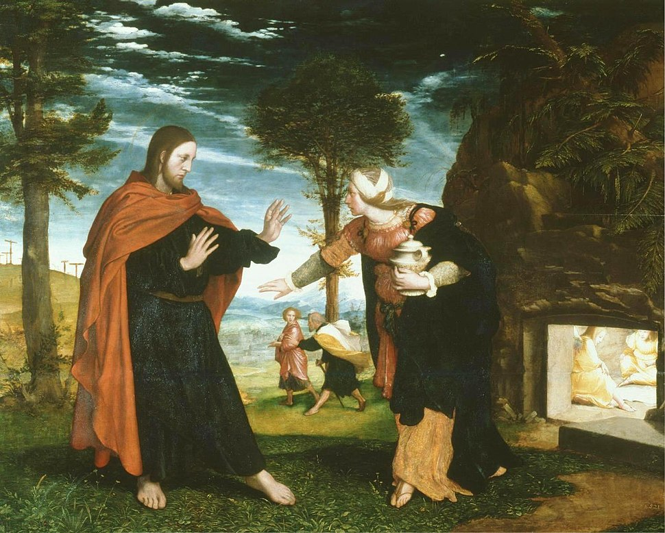 Noli me tangere (1524); Hans Holbein the Younger