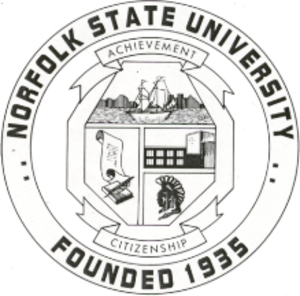 Norfolk State University - Image: Norfolk State University Seal