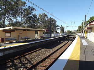 North Boondall Railway Station, Queensland, July 2012.JPG