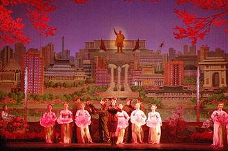 Korean revolutionary opera - An opera performance in Pyongyang