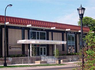 North Regional Library - North Regional Library exterior, 2007
