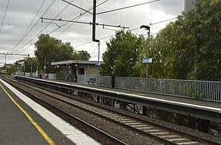 North Richmond railway station railway station in Richmond, Melbourne, Victoria, Australia