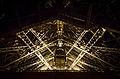 North pylon lift shaft at the Eiffel Tower, Paris 20 April 2013.jpg