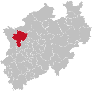 Wesel (district) - Image: North rhine w wes grey